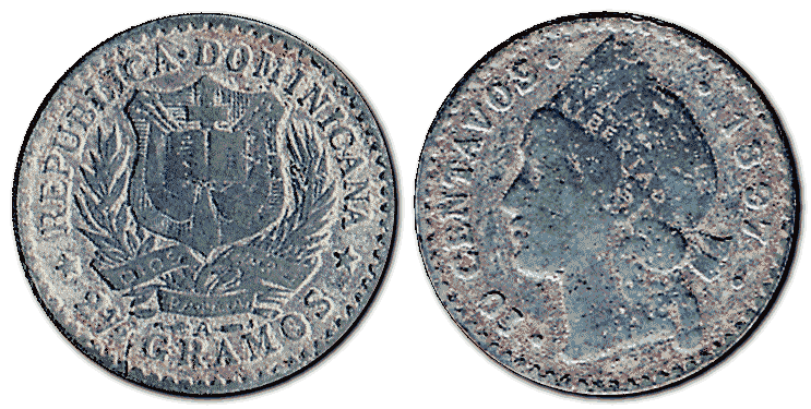 Dominican-Republic-silver-coin