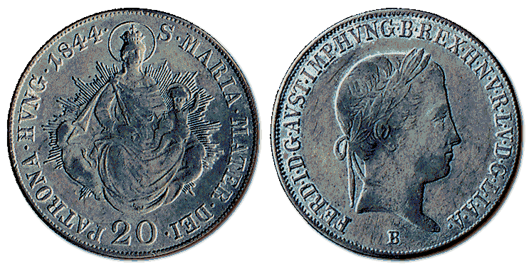 Hungary-silver-coin