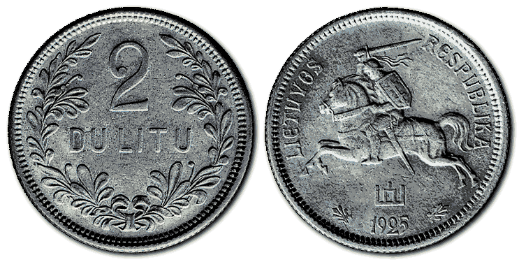 Lithuania-silver-coin