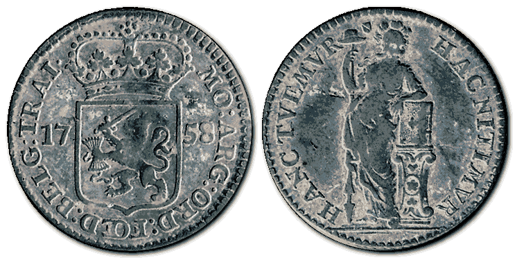 Netherlands-silver-coin