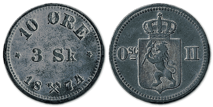 Norway-silver-coin